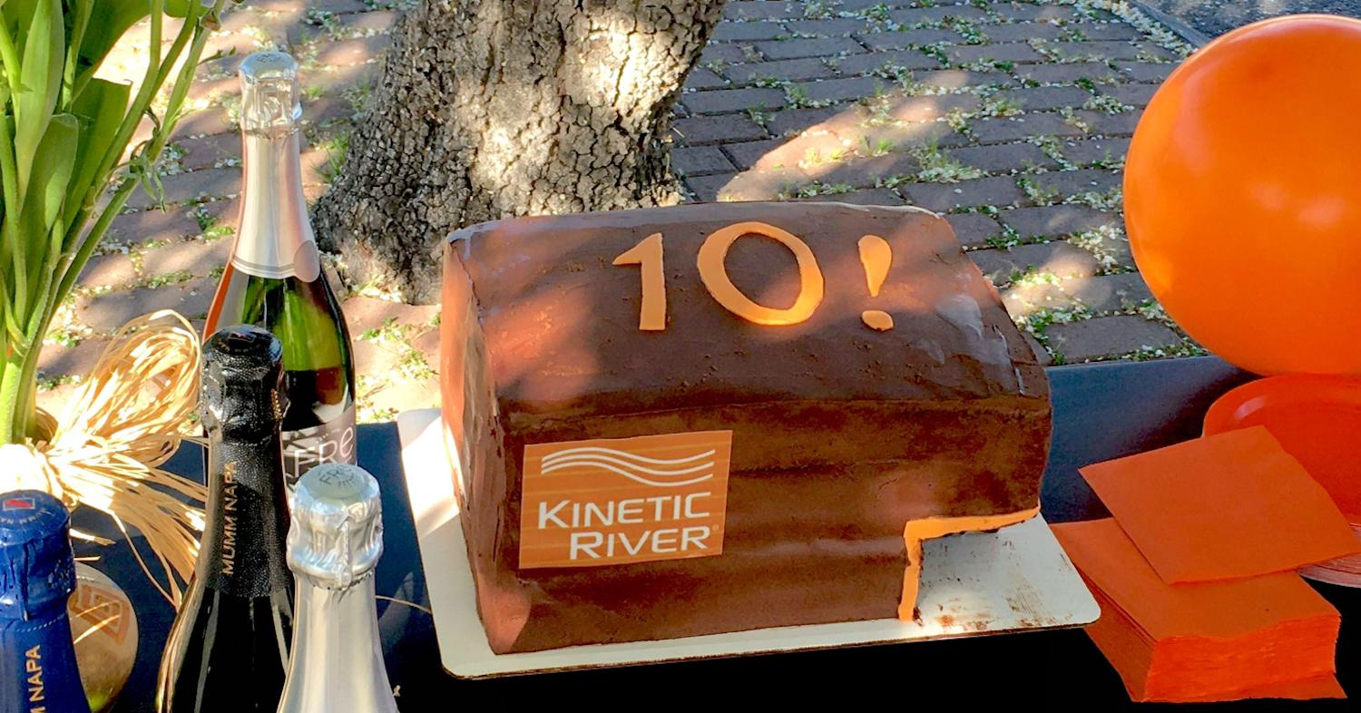 Kinetic River Celebrates 10 Years