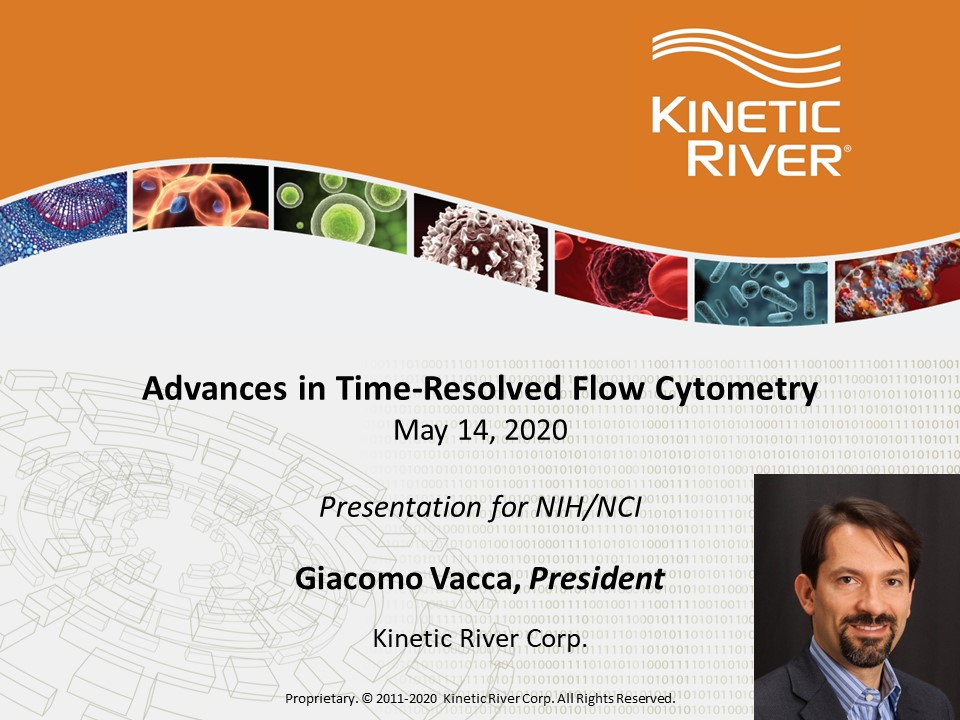 Kinetic River Presents Technology To National Cancer Institute