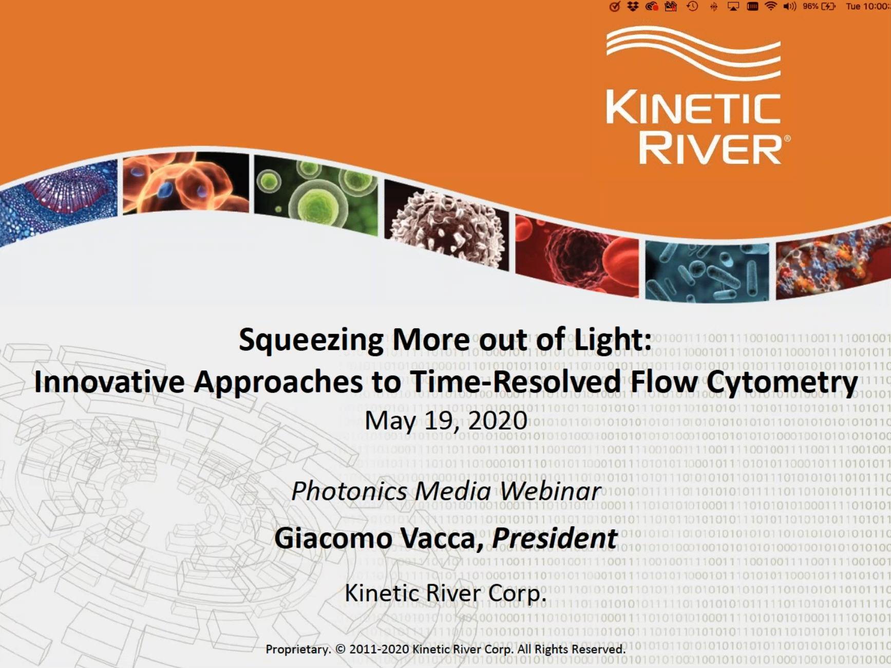 Photonics Media Hosts Kinetic River Webinar