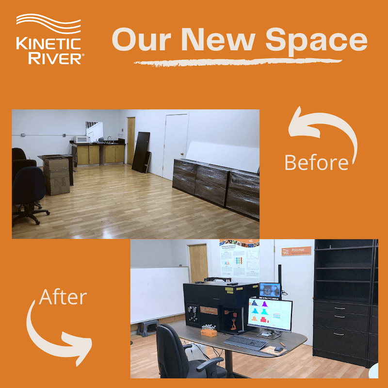 Kinetic River Has Expanded Its Laboratory Space
