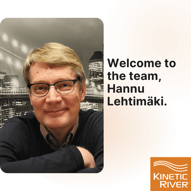 Welcome To The Team, Hannu Lehtimäki.