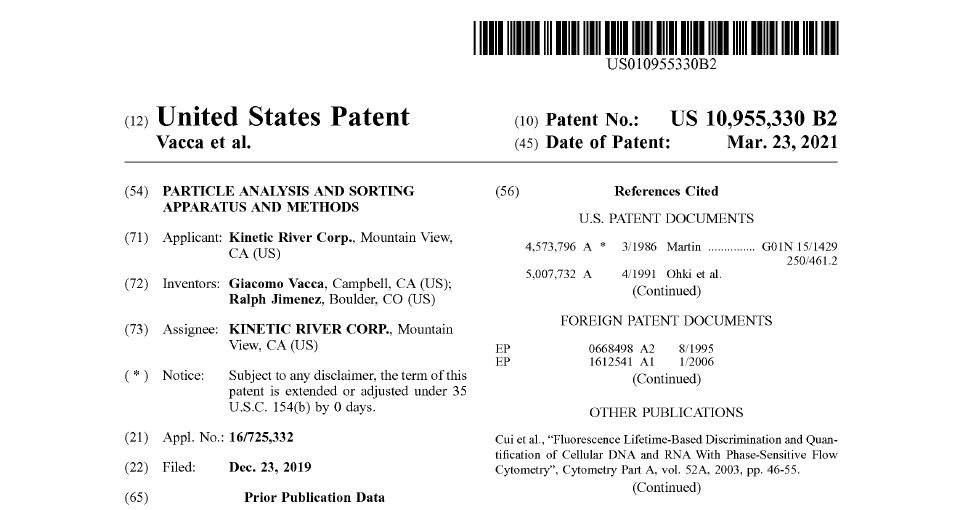 Kinetic River Is Issued Its 11th Patent