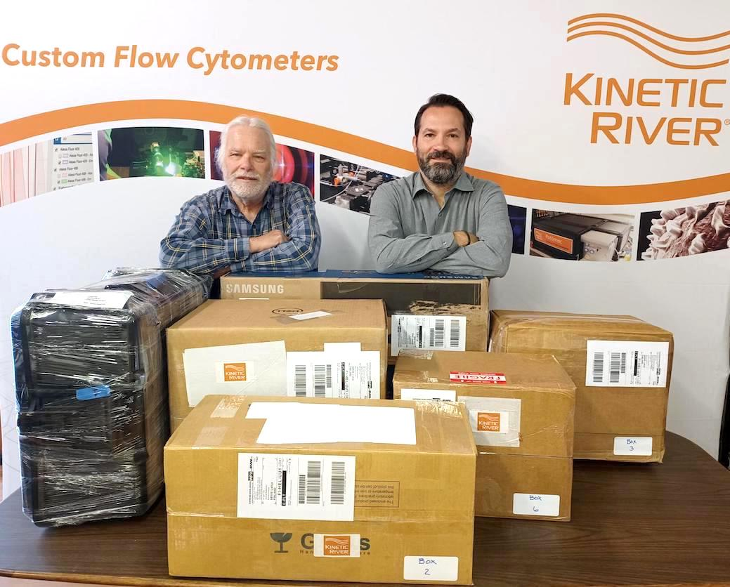 Kinetic River Ships Custom Instrument For Flame Diagnostics